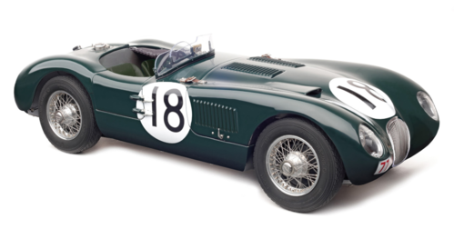Jaguar C Type winner 24h le mans 1953 1/18