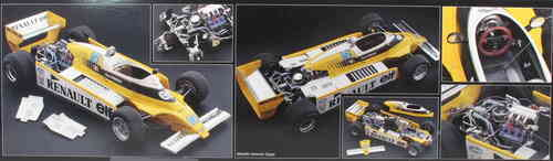 RENAULT RE20 TURBO F1 KIT 1:12