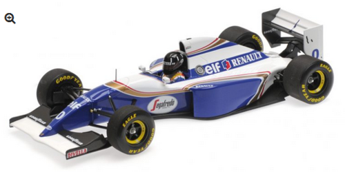 WILLIAMS RENAULT FW16 DAMON HILL 2ND PLACE BRAZILIAN GP 1994 MINICHAMPS 1/18