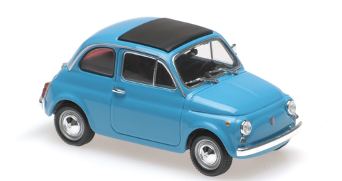 FIAT 500 L 1965 BLUE MINICHAMPS 1/43 940121601