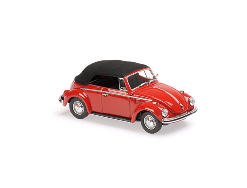 VW 1302 CABRIOLET 1970 RED MINICHAMPS 1/43 940055031