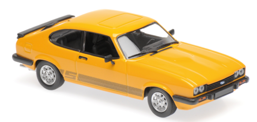 FORD CAPRI 1982 ORANGE MINICHAMPS 1/43 940082221