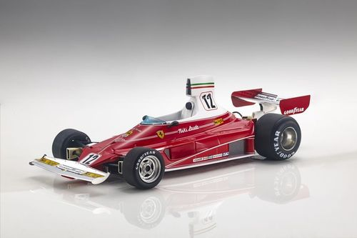 FERRARI 312 T 1975 N.12 NIKI LAUDA 1:18 World Champion