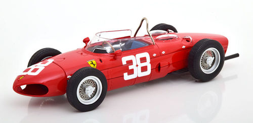 FERRARI 156 F1 SHARKNOSE PHIL HILL 1961 N.38 3rd MONACO GP 1:18