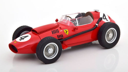 FERRARI DINO 246 F1 MIKE HAWTHORN 1958 N.4 WINNER FRANCE GP 1:18