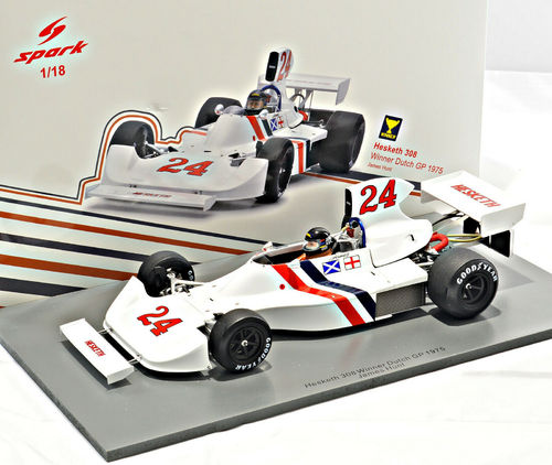 HESKETH 308 JAMES HUNT 1975 N.24 WINNER DUTCH GP 1:18