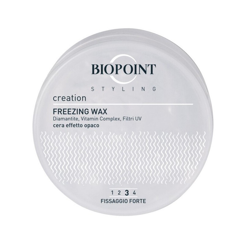 Biopoint Styling Creation Freezing Wax 100 ml ( cera cera effetto opaco) Cod.43724 - Biopoint